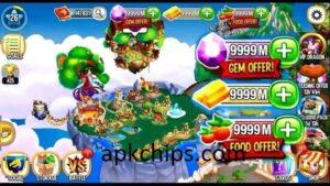 Download Dragon City Mod Apk (Auto updates, Unlimited Money, Gems) 2