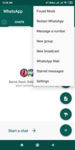 Fouad WhatsApp v11.41 latest version download - Anti Ban 2