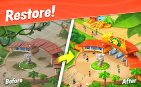 Wildscapes Mod APK 2022 – Download Unlimited Coins, Gems And Money 4